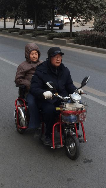 Xi'an Mode of Transport | Mint Mocha Musings