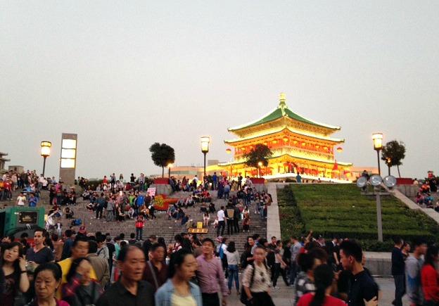 Xi'an City Centre | Mint Mocha Musings