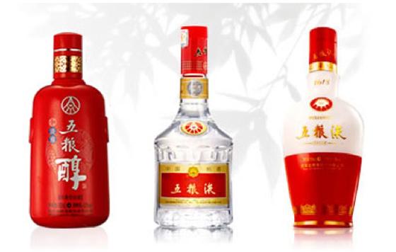 Baijiu brands in China