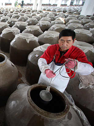 baijiu production
