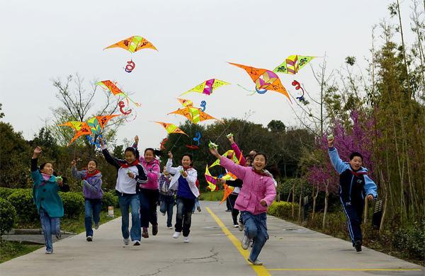 China Kites Qing Ming Festival