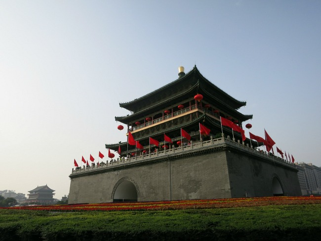 Bell Tower in Xi'an | Mint Mocha Musings