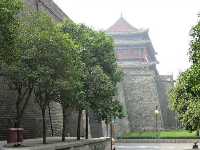 Xian's Ancient Wall   Mint Mocha Musings