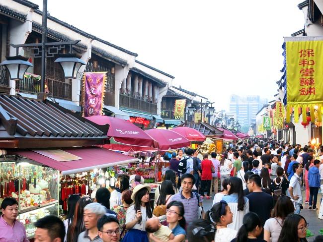 Visiting Hangzhou China | Wushan Sq