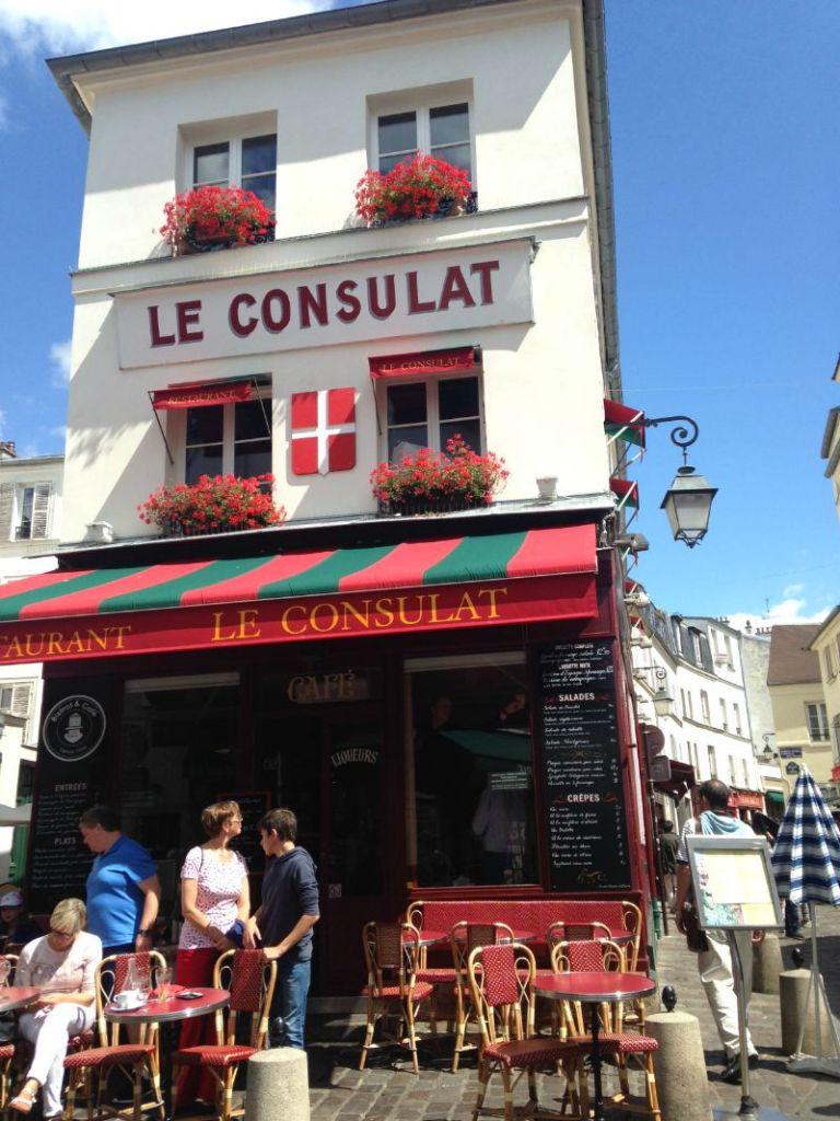 Paris Cafe MontMartre   Mint Mocha Musings