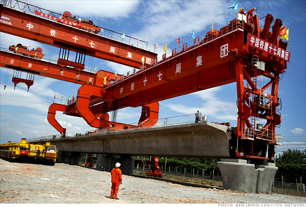 Rail in China Silk Road