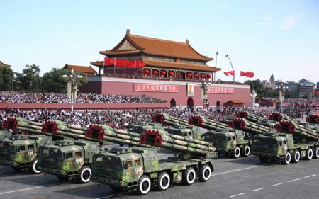 China Parade Tanks