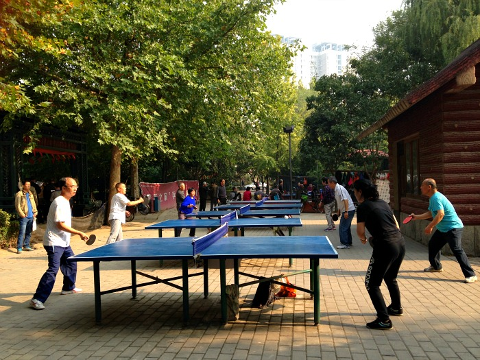 Playing Ping Pong in China | Mint Mocha Musings