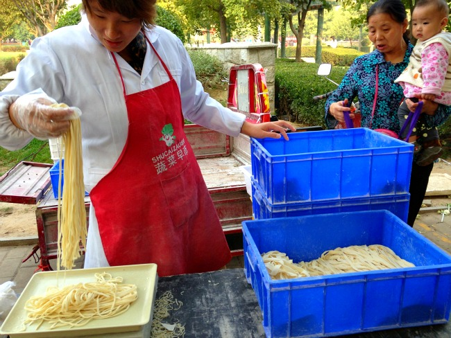 Fresh Noodles in China