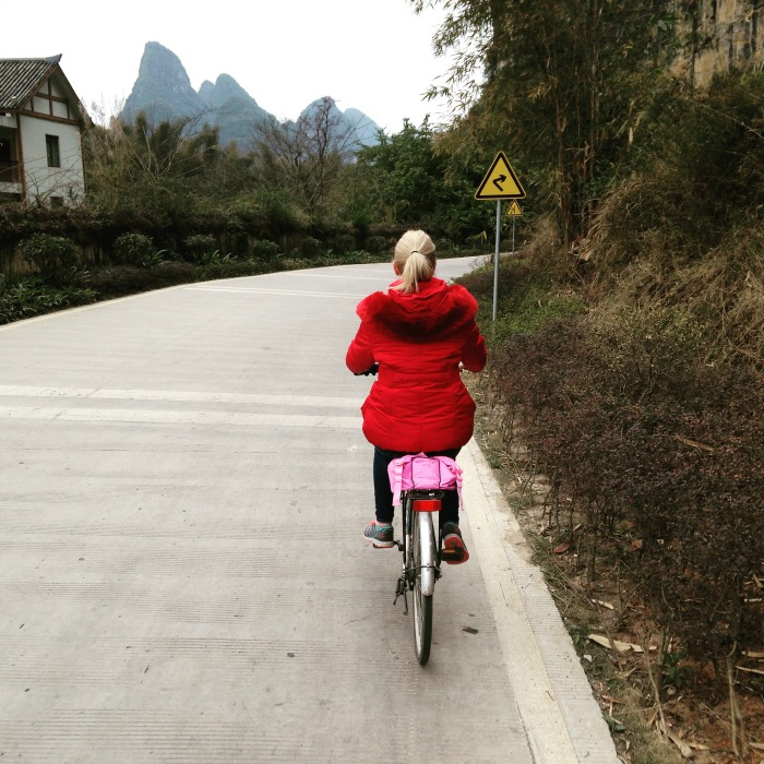 Guilin Yangshuo cycling