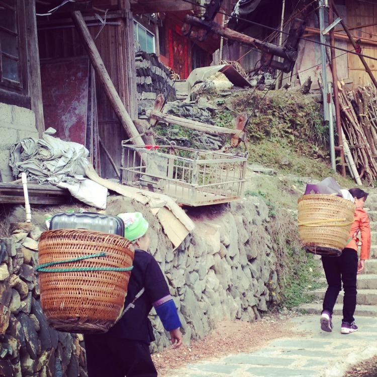Staying in Guilin Ping'an Village