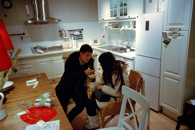 China Ikea kitchens