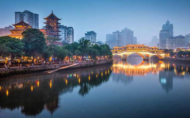 Chengdu City China