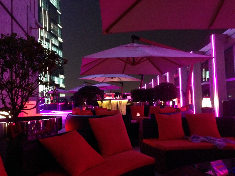 St Regis Hotel Rooftop Bar Chengdu