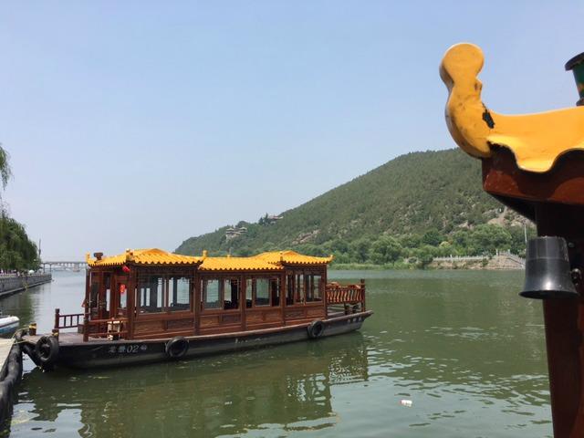 Boats at Longmen Luoyang