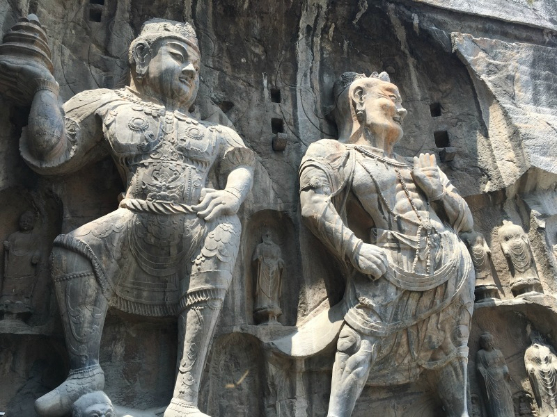 Buddhas Longmen Grottoes