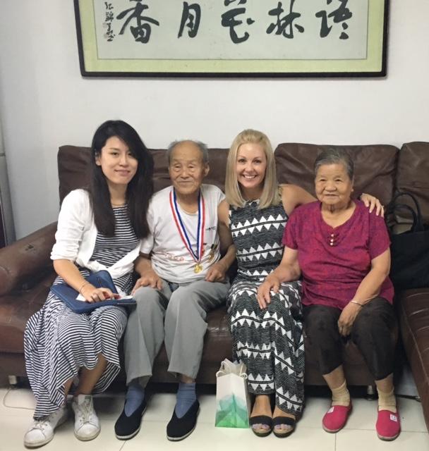 Friends in china