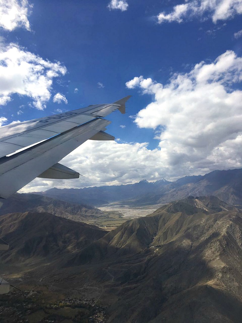 Flying to Lhasa | Mint Mocha Musings