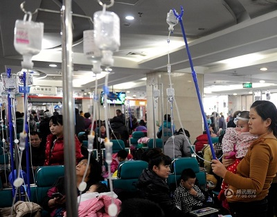 Babies in China's hospitals