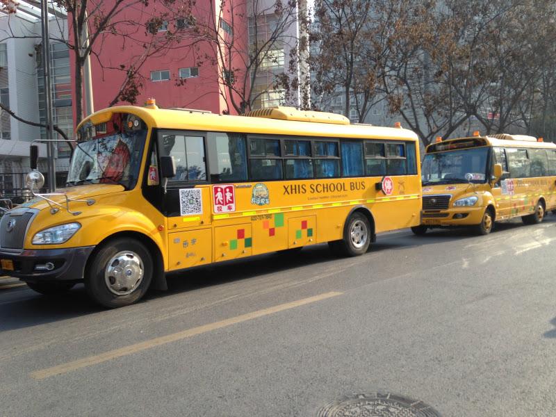 Children at school overseas