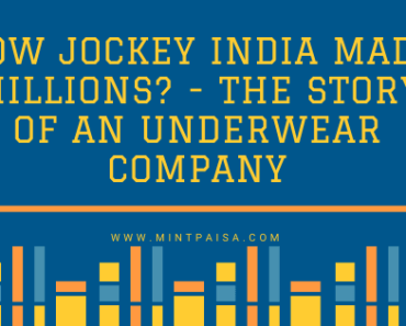 HOW JOCKEY MADE MILLIONS? - THE STORY OF AN UNDERWEAR COMPANY