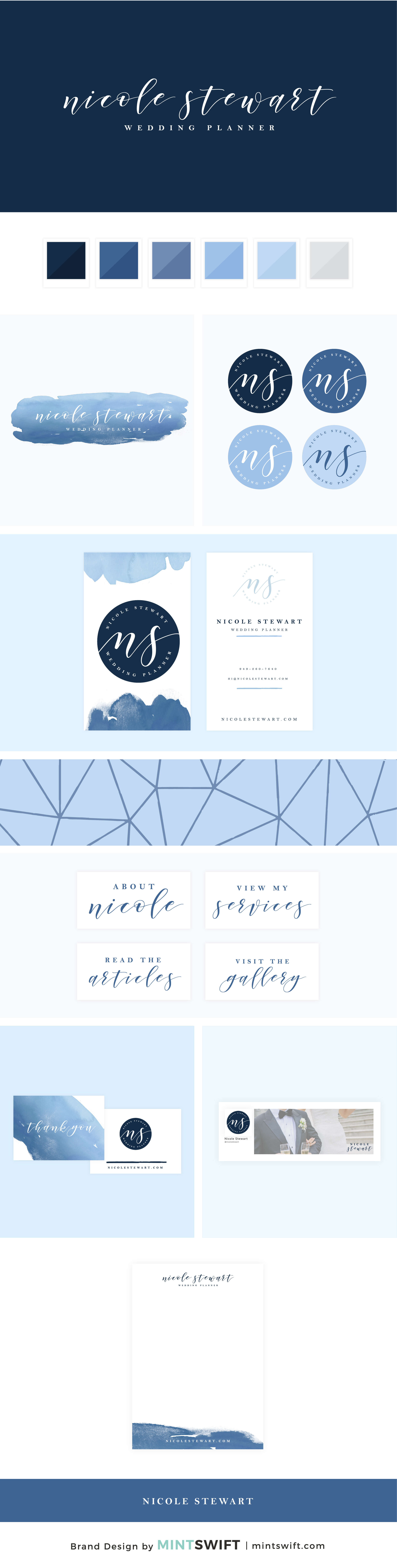 Nicole Stewart - Brand Design Package - MintSwift