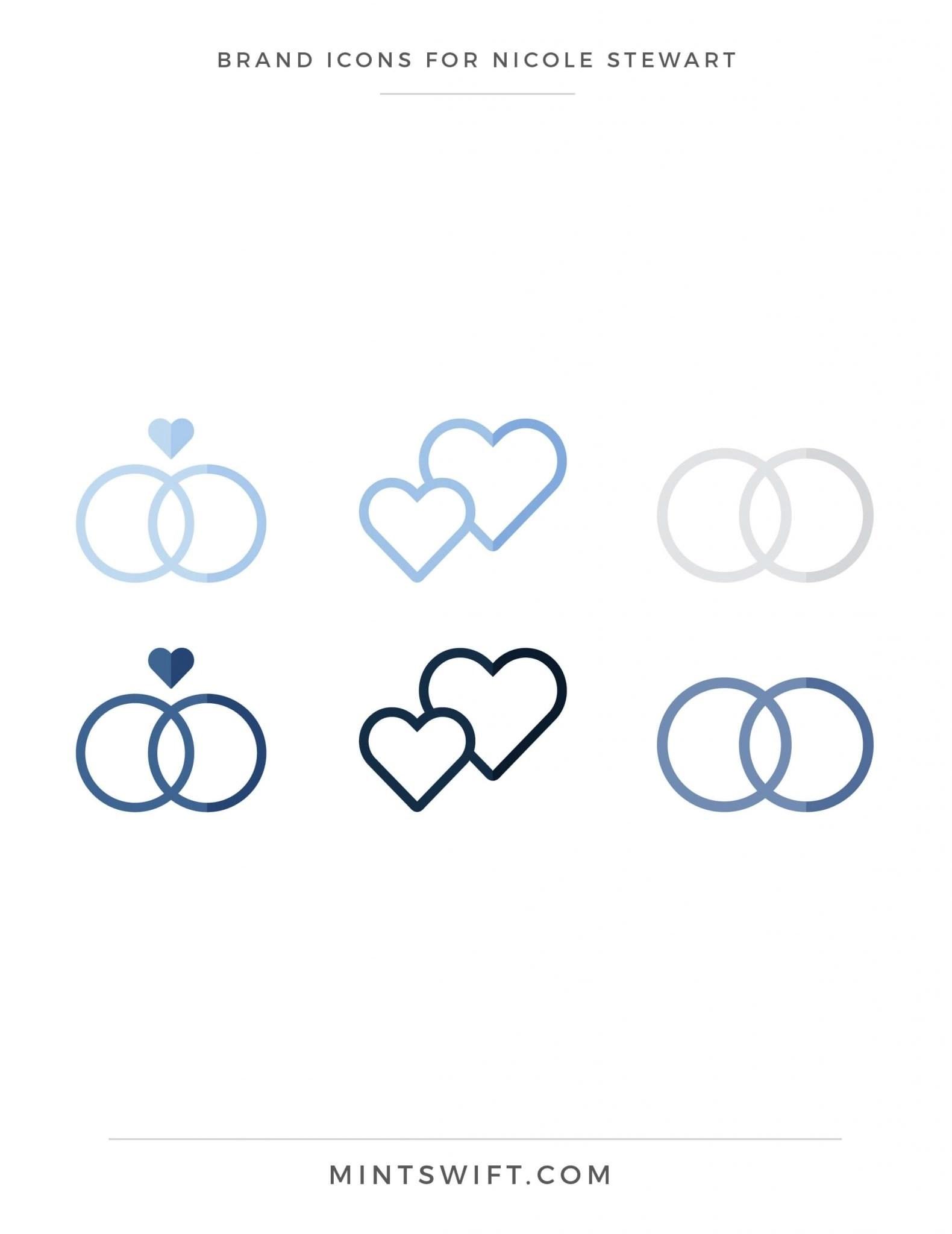 Nicole Stewart - Brand Icons - Brand Design Package - MintSwift