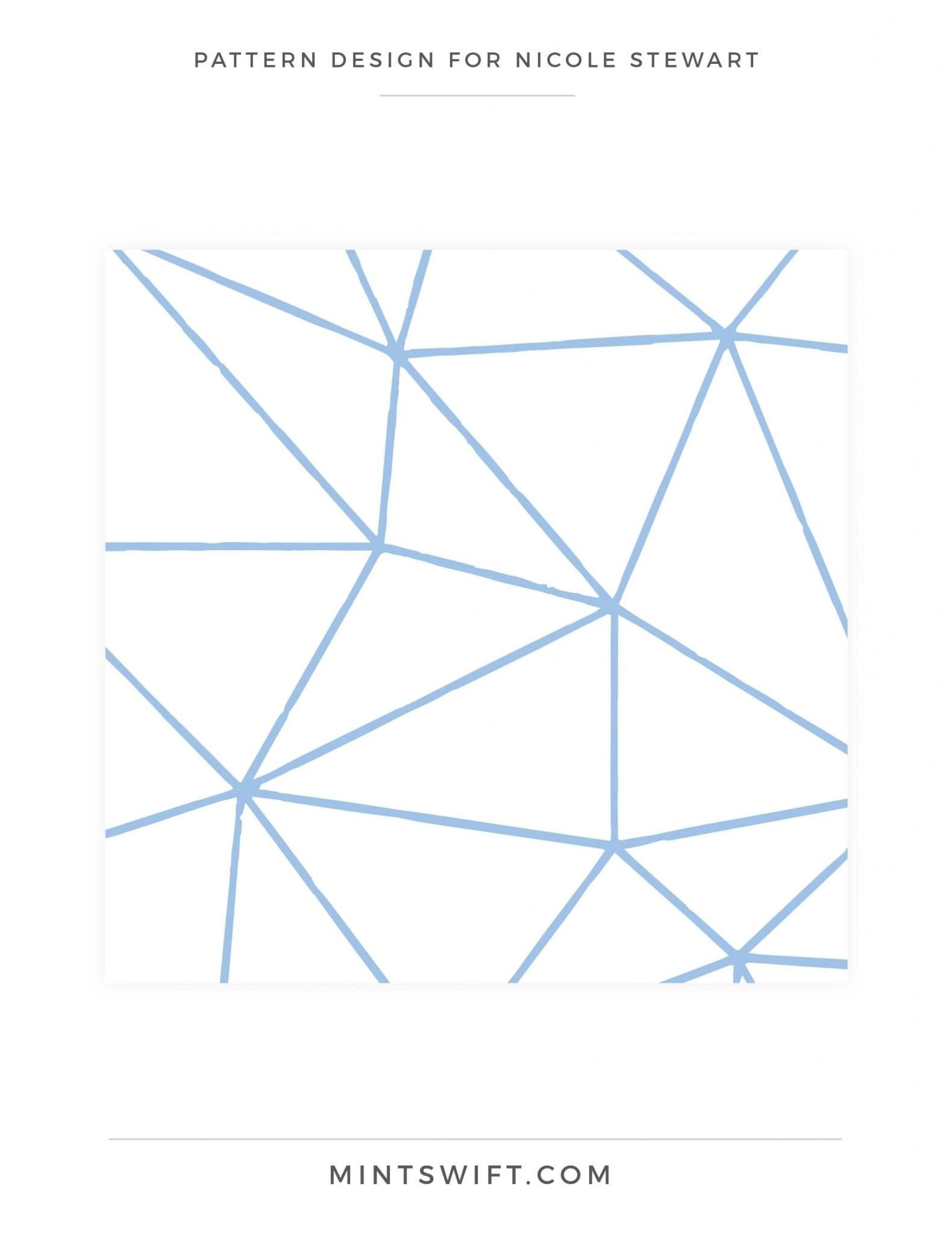 Nicole Stewart - Pattern Design - Brand Design Package - MintSwift