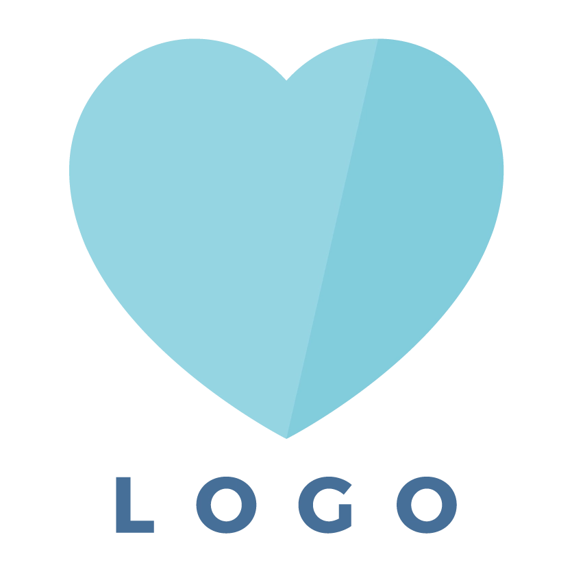 Brand Design icon - Logo aqua blue - MintSwift