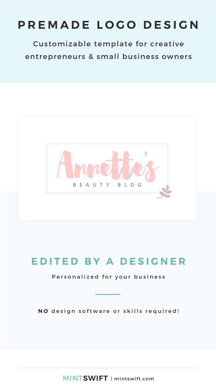 Annette's Premade Logo