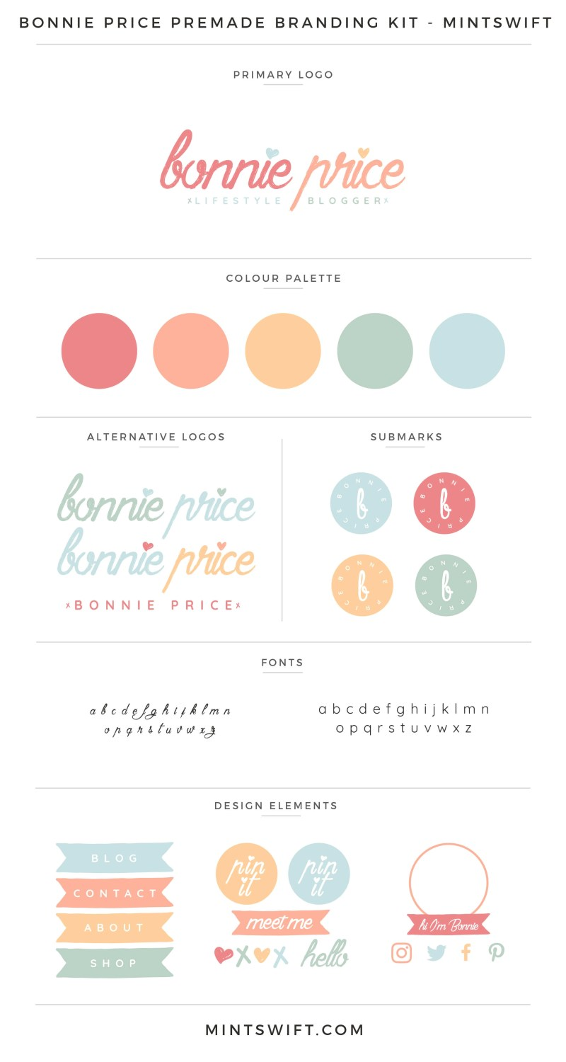 Bonnie Price Premade Branding Kit
