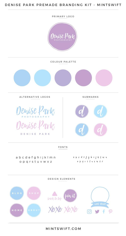 Denise Park Premade Branding Kit