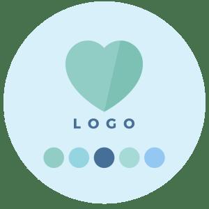 Step 4 - Logo Design + Colour Palette - Brand Design Package Process - MintSwift