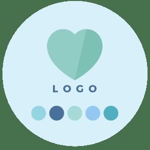 Step 4 - Logo Design + Colour Palette Design - Brand & Website Design Package Process - MintSwift