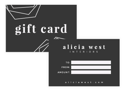 Gift card or Coupon design - brand collateral example - MintSwift