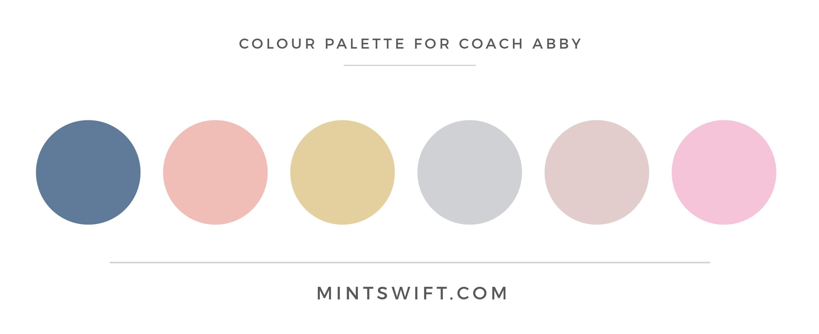Coach Abby - Colour Palette - Brand Design - MintSwift