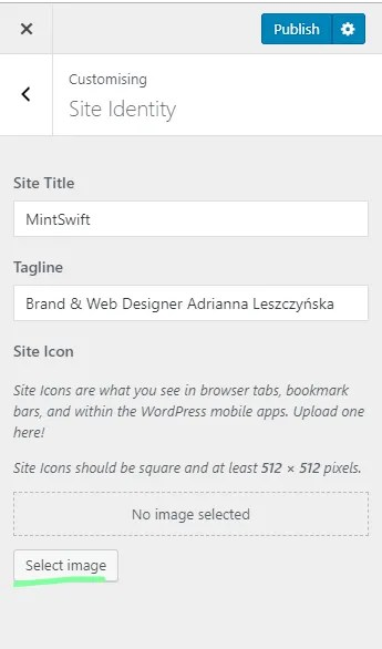 How to Add a Favicon to WordPress Blog & Website - 3 - MintSwift
