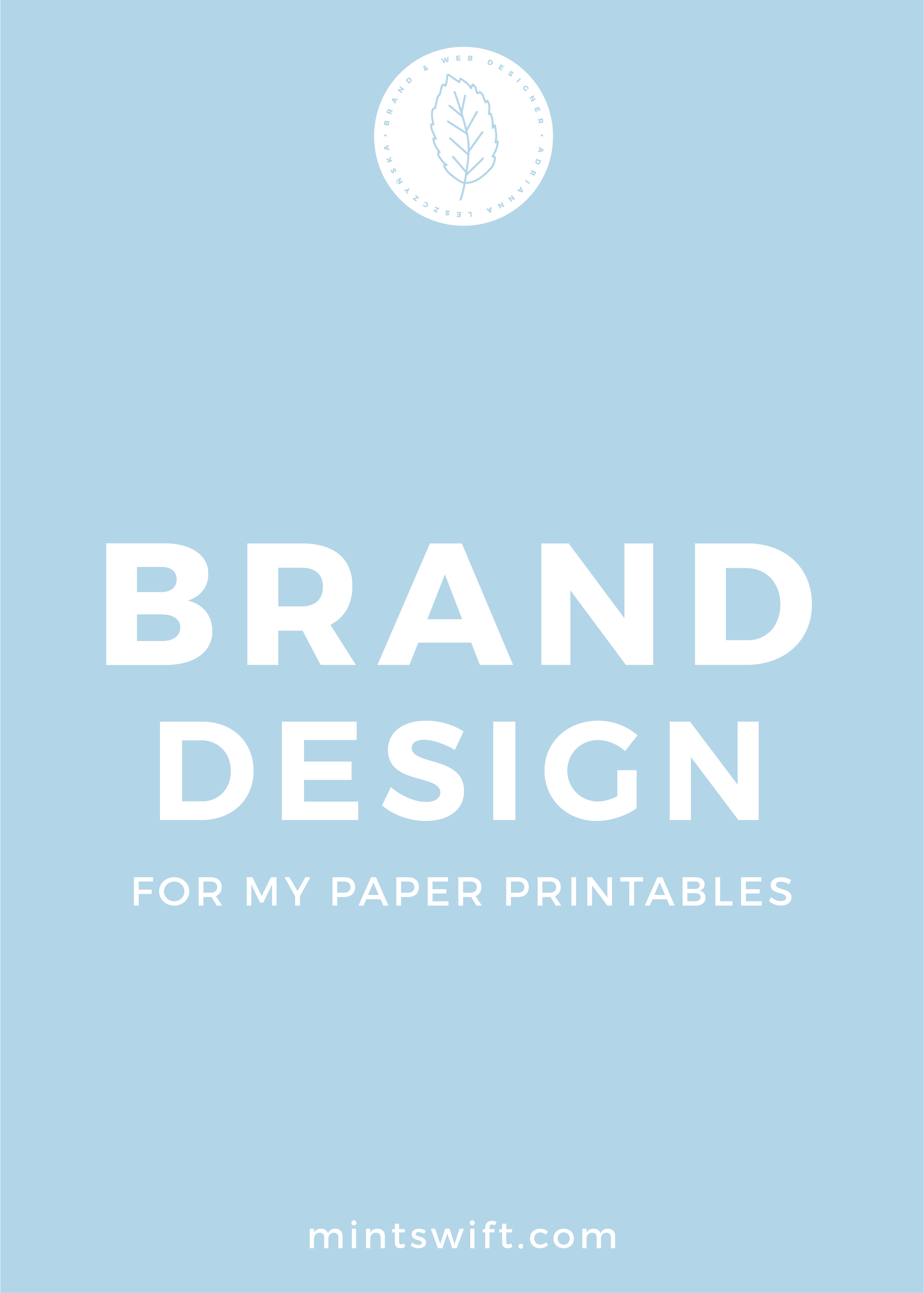 Brand Design for My Paper Printables