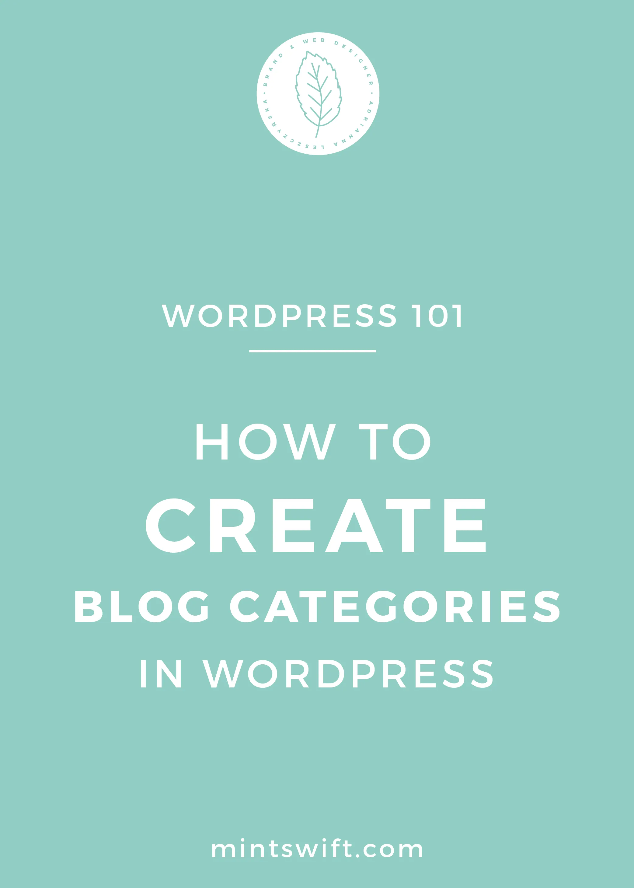 How to Create Blog Categories in WordPress - MintSwift