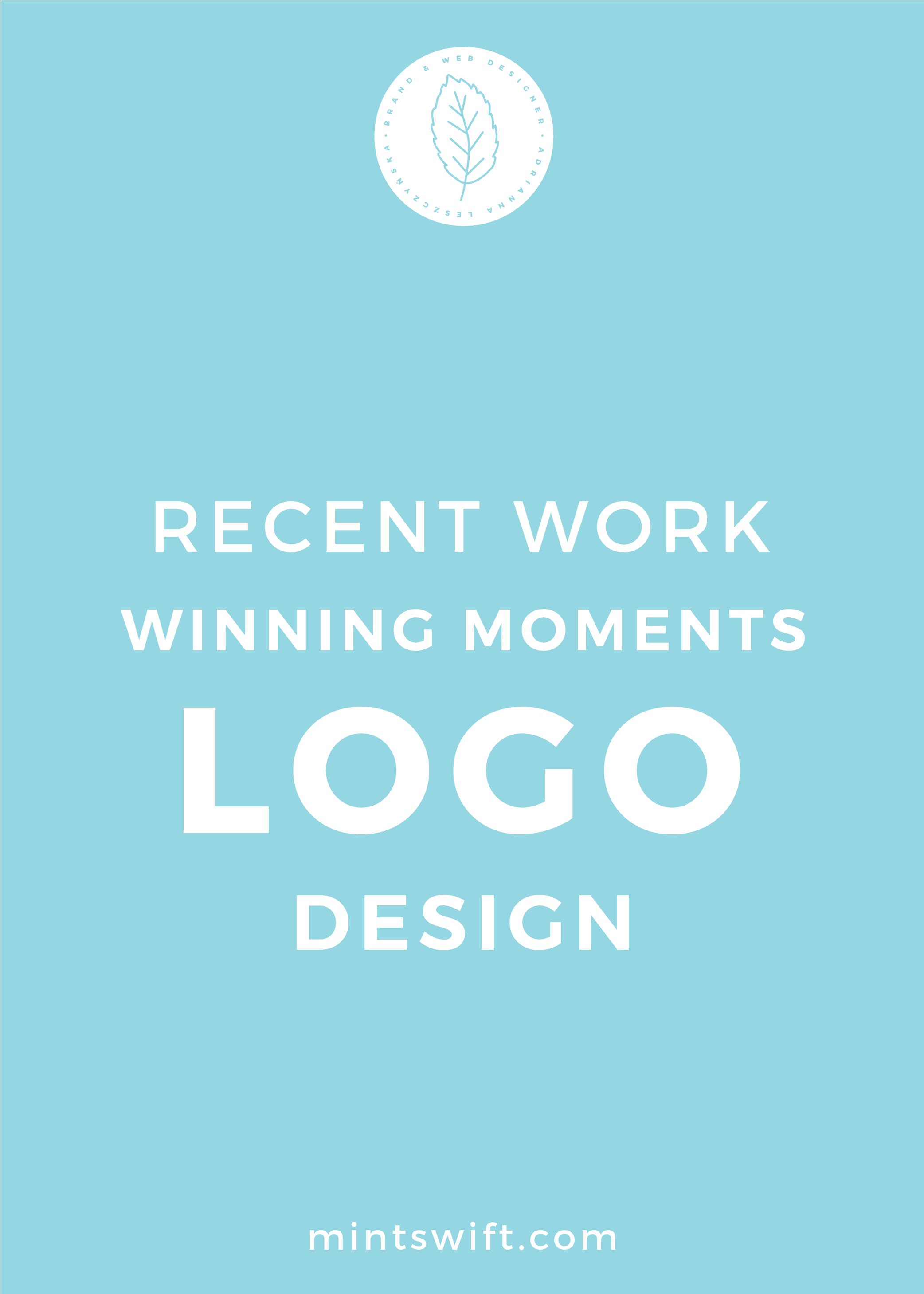 Recent Work Winning Moments Logo Design - MintSwift