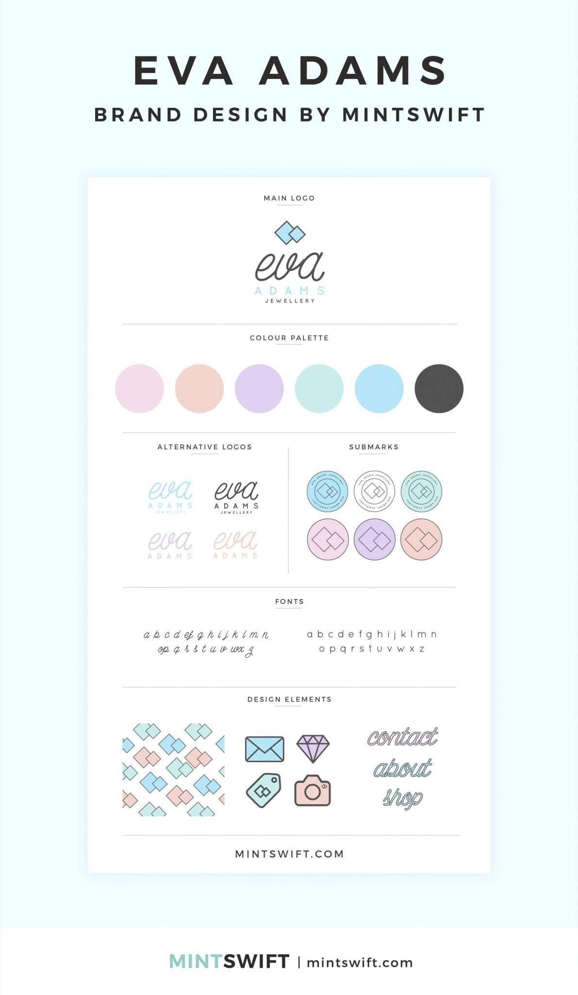 Eva Adams - Brand Design - MintSwift - Adrianna Leszczynska