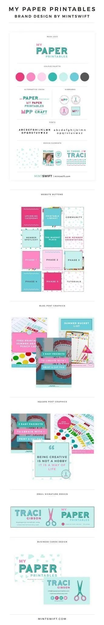 My Paper Printables - Brand Design by MintSwift