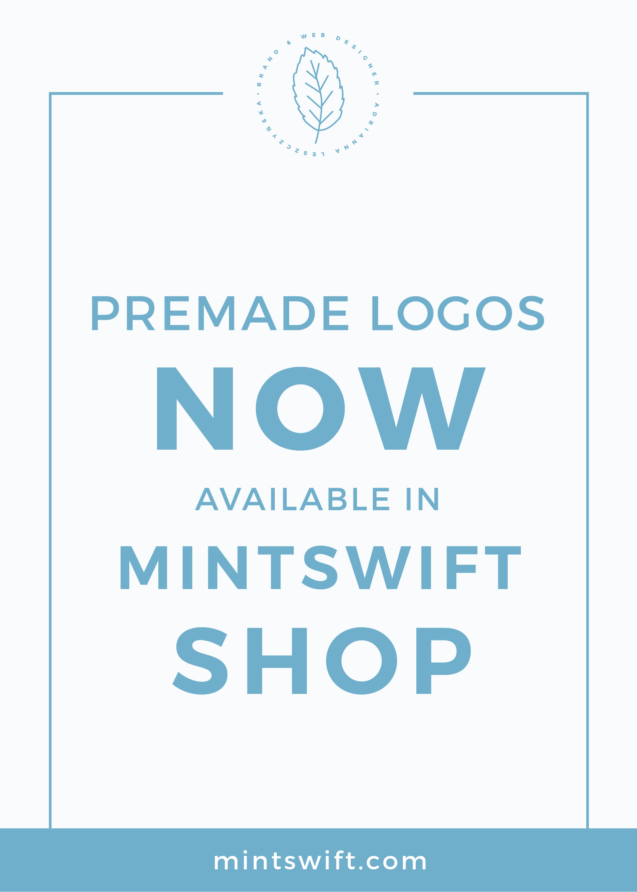 Premade Logos Now Available in MintSwift Shop MintSwift