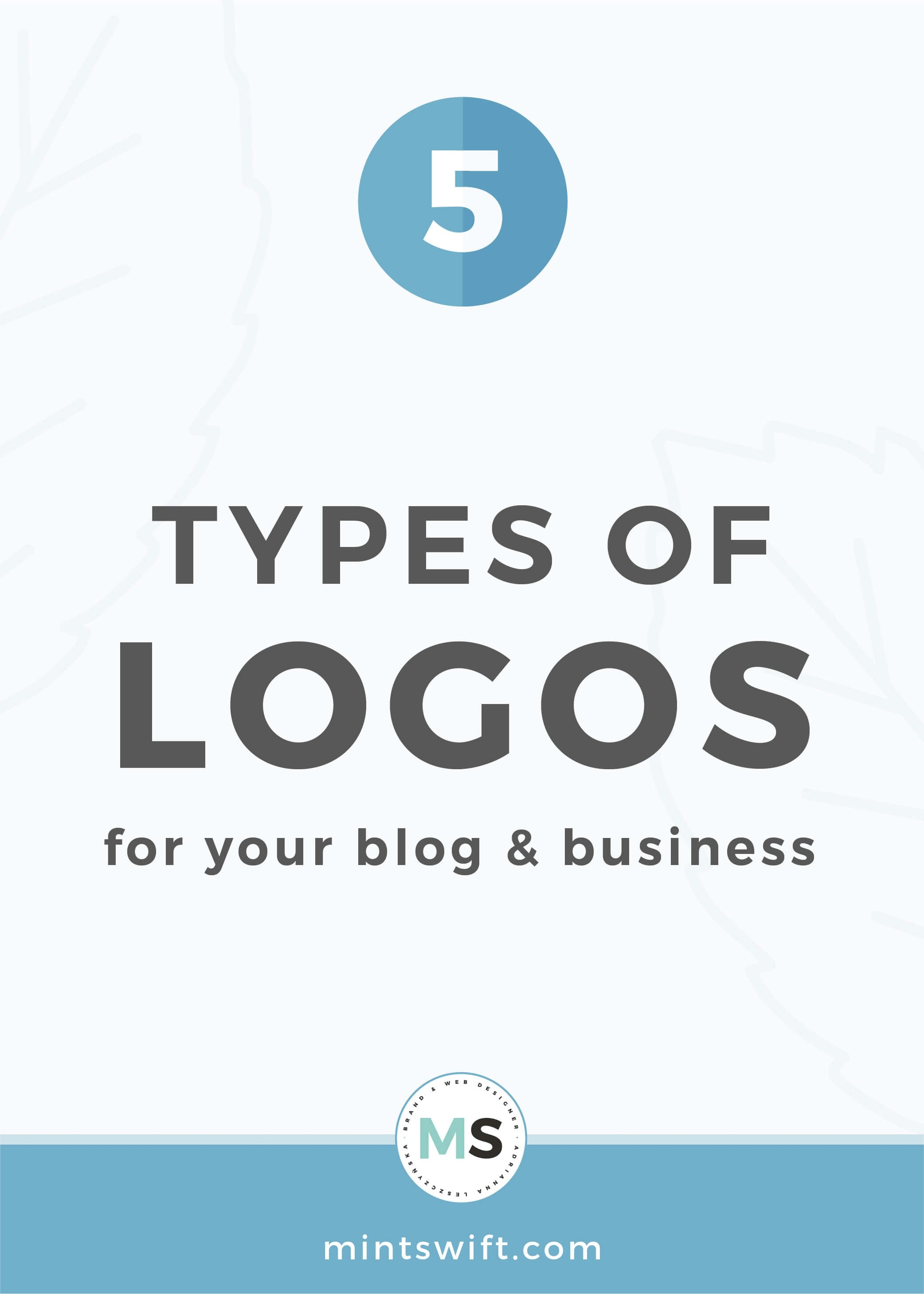 5 Types of Logos For Your Blog & Business - MintSwift