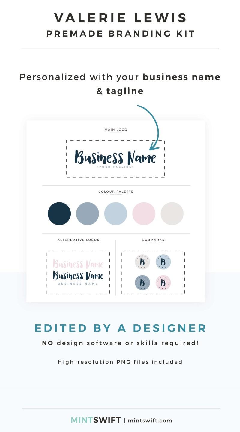 Valerie Lewis Premade Branding Kit