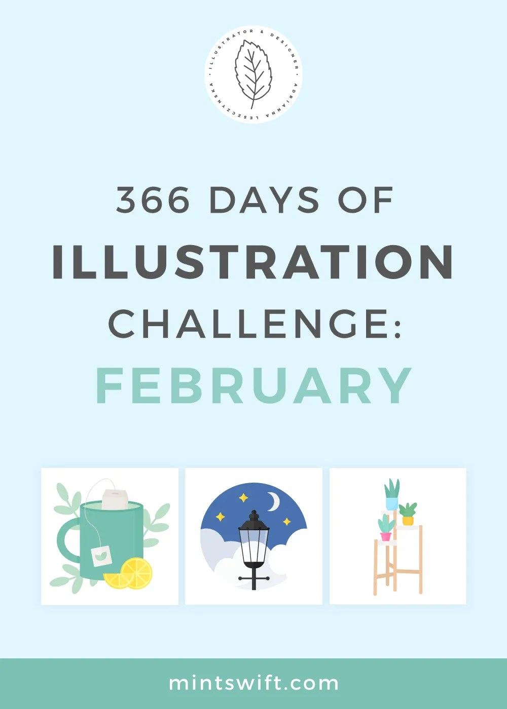 366 Days of Illustration Challenge – February