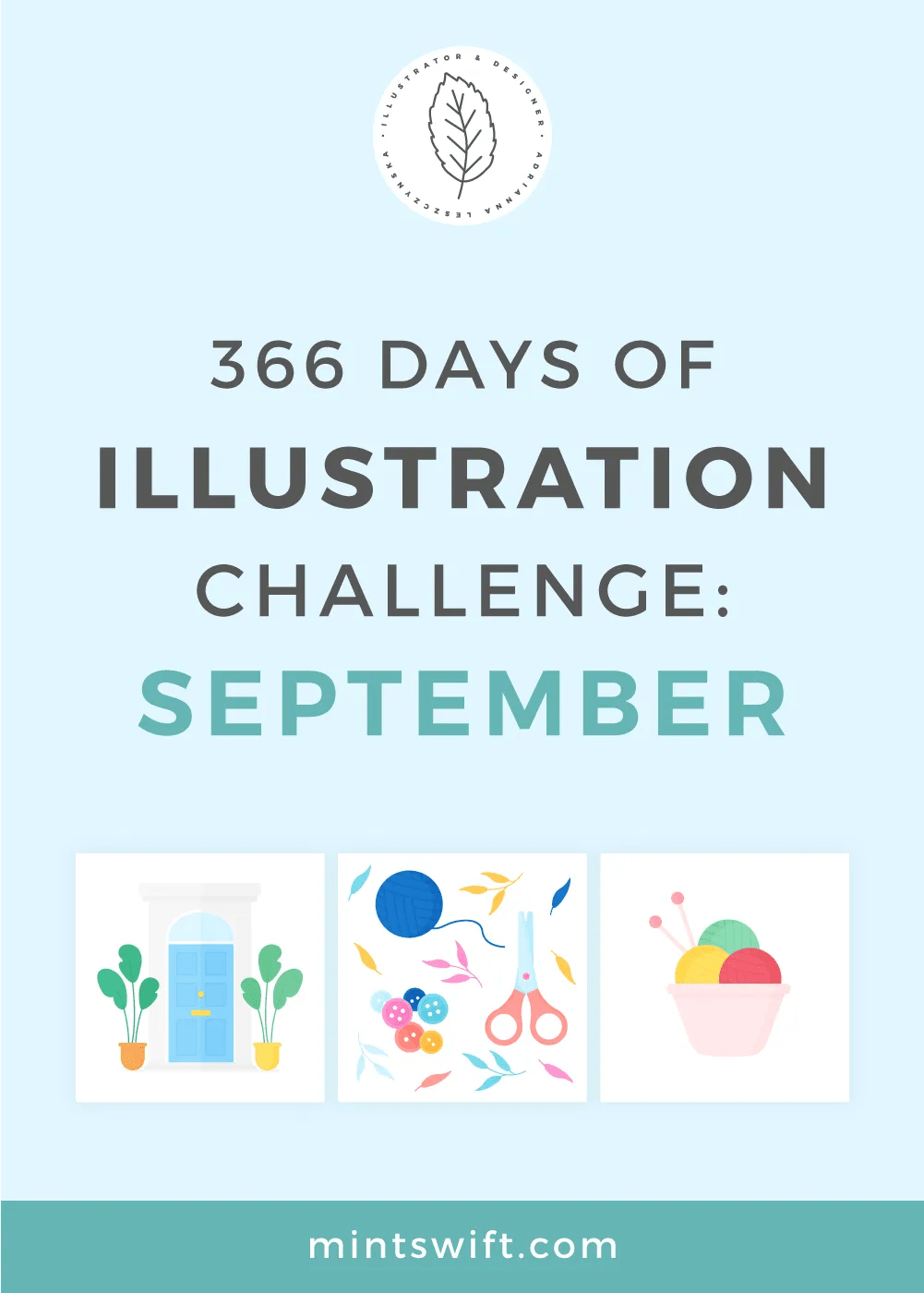 366 Days of Illustration Challenge – September
