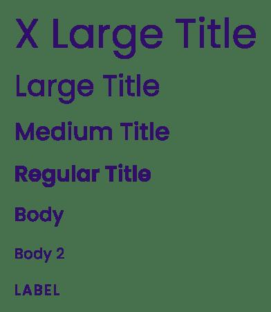 Brity - Type Scale - MintSwift