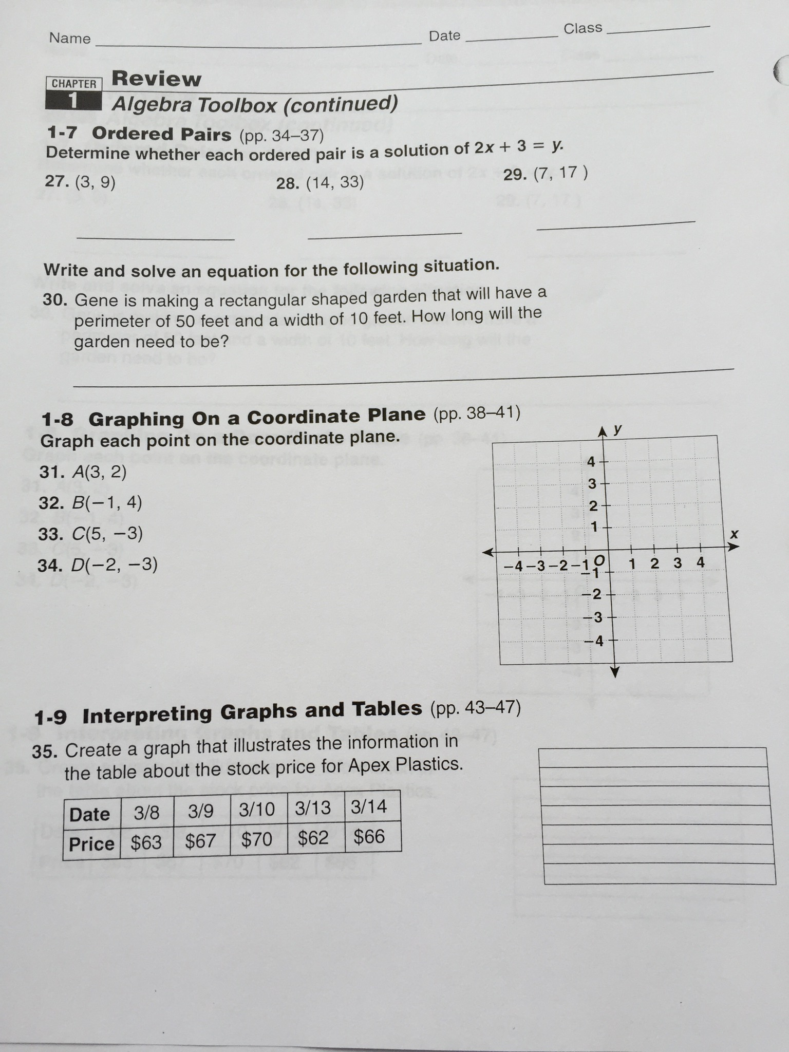 7th Grade Homework