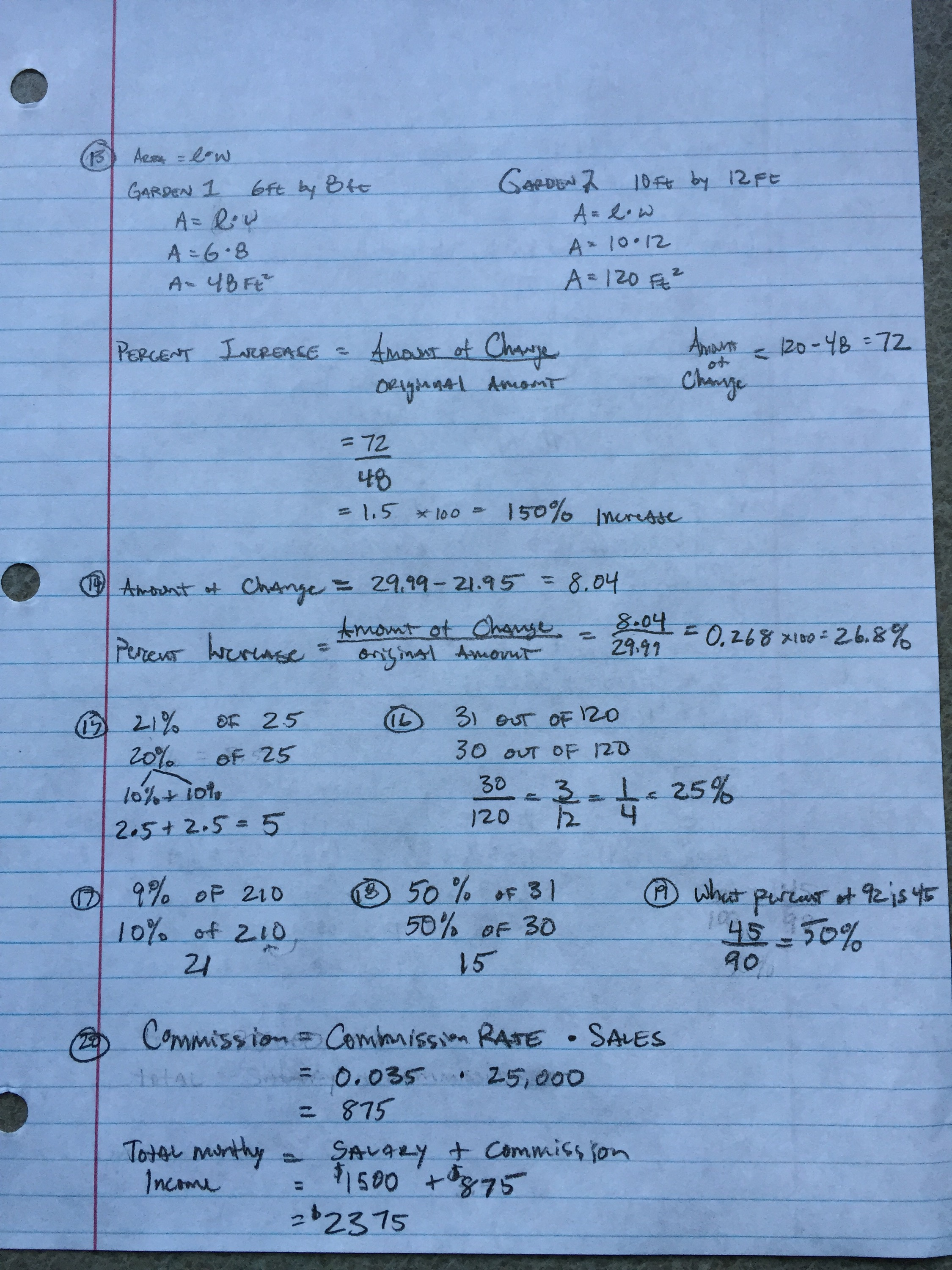 8th Grade End Of Ch 8 Review Sheet Answers